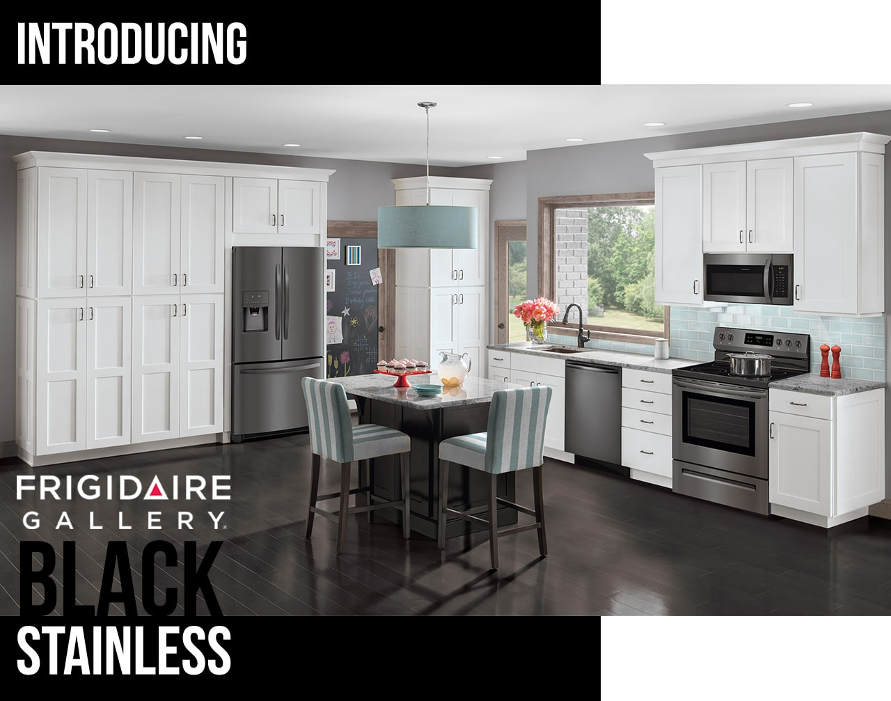 Frigidaire Gallery Black Stainless Steel With Smudge Proof