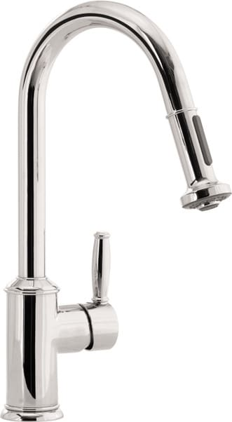Hansgrohe 06128860 Single Lever Handle Kitchen Pull-Out Faucet with ...