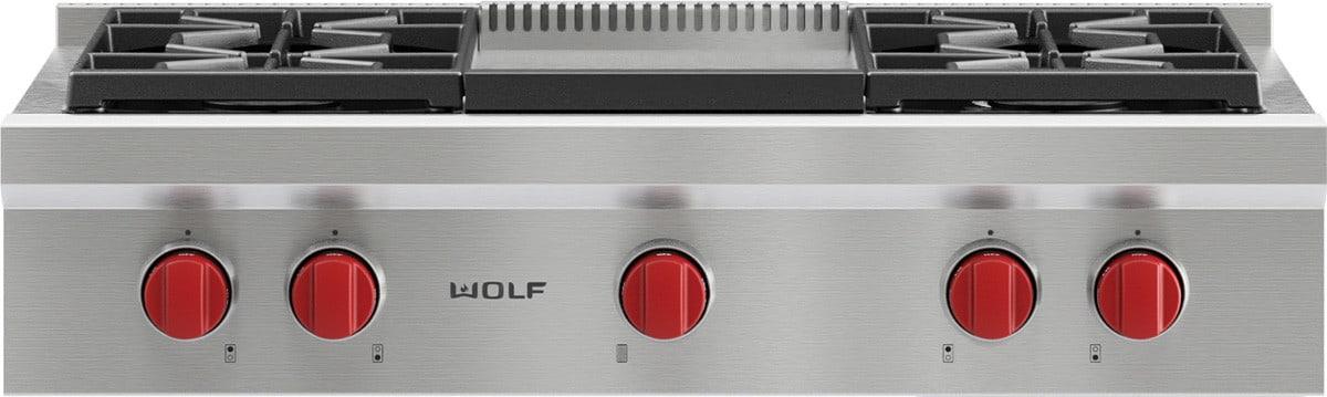48 inch pro rangetop srt484cg the ultimate wolf range update