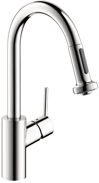 Hansgrohe 04286000 Single Lever Pull Down Kitchen Faucet