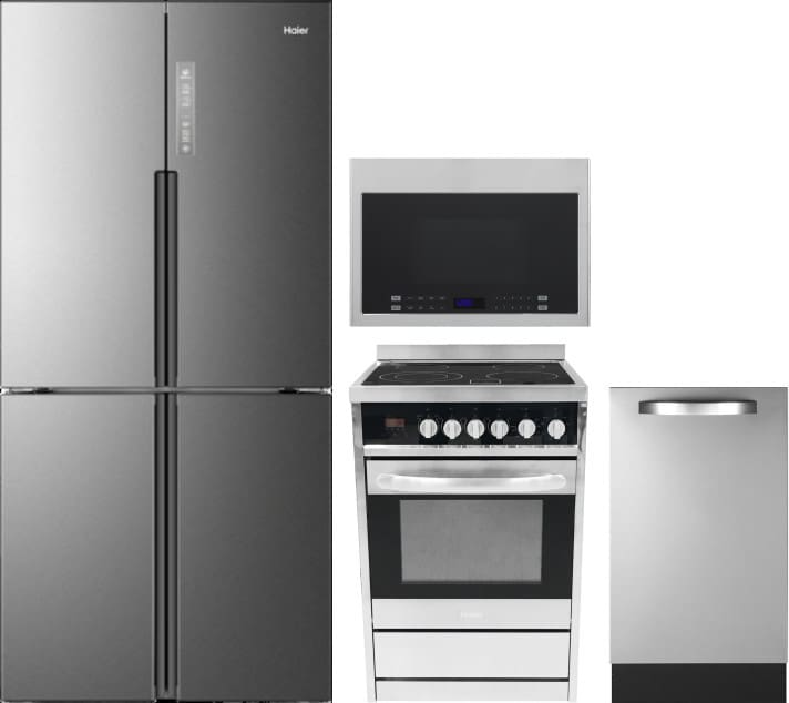 Kitchen Appliance Packages Stainless Steel Double Oven