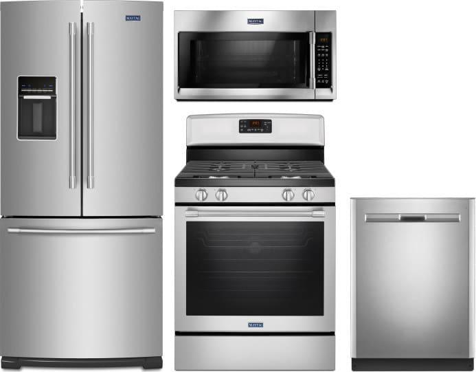 Maytag MARERADWMW32 4 Piece Kitchen Appliances Package