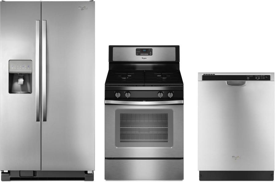 whirlpool wpreradw2 3 piece kitchen appliances package