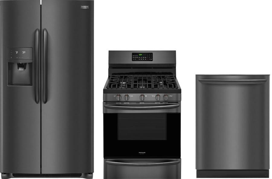 Frigidaire frreradw34 3 piece kitchen appliances package - 3 piece kitchen appliance package ...