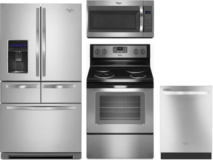 Whirlpool Wpreradwmw1069 4 Piece Kitchen Appliances