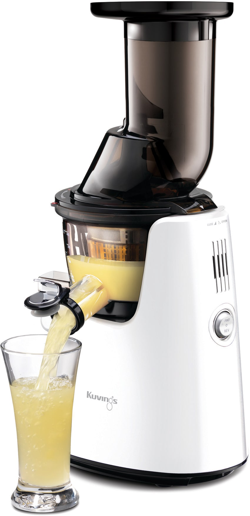 Kuvings C7000W Whole Slow Juicer Elite with Cold Press Technology, Extra-Wide Chute, Smart Cap ...