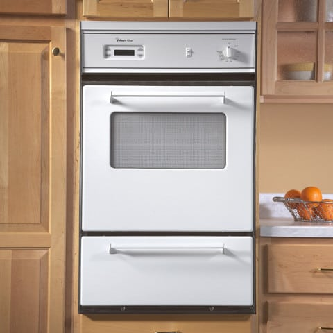 Magic Chef 9112wuv 24 Inch Single Gas Wall Oven With Lower