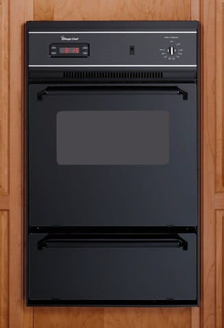Magic Chef 9112xub 24 Inch Single Gas Wall Oven With Lower