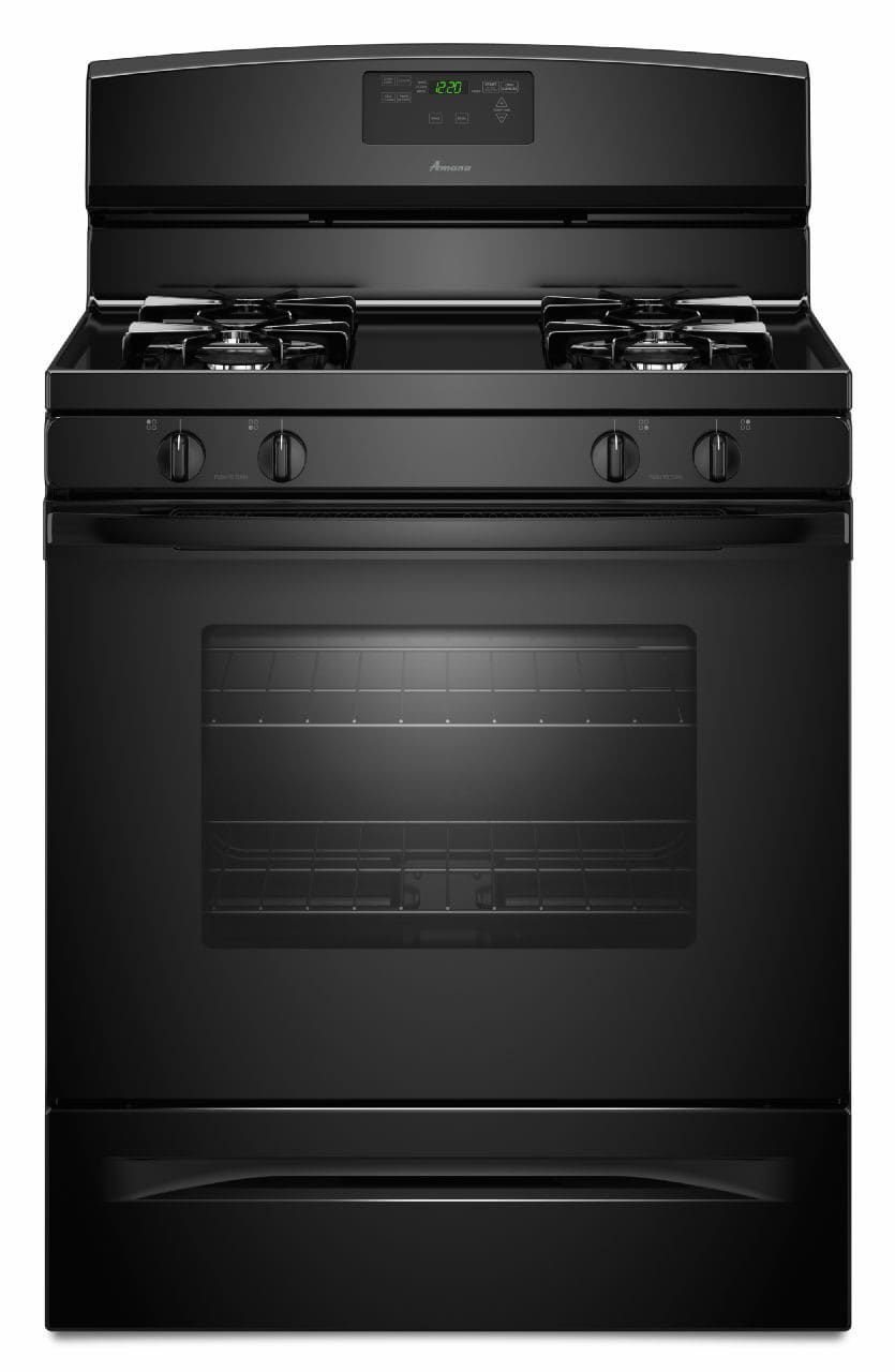 Amana Agr5630bdb 30 Inch Freestanding Gas Range With 4