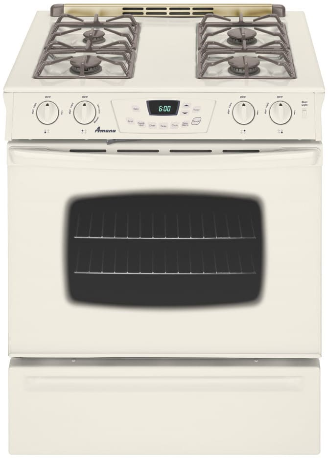 Amana Ags3760bdq 30 Inch Slide In Gas Range With 4 Sealed