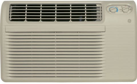 ge ajcs08acc 8 000 btu through the wall cool only air conditioner with mechanical controls 2. Black Bedroom Furniture Sets. Home Design Ideas