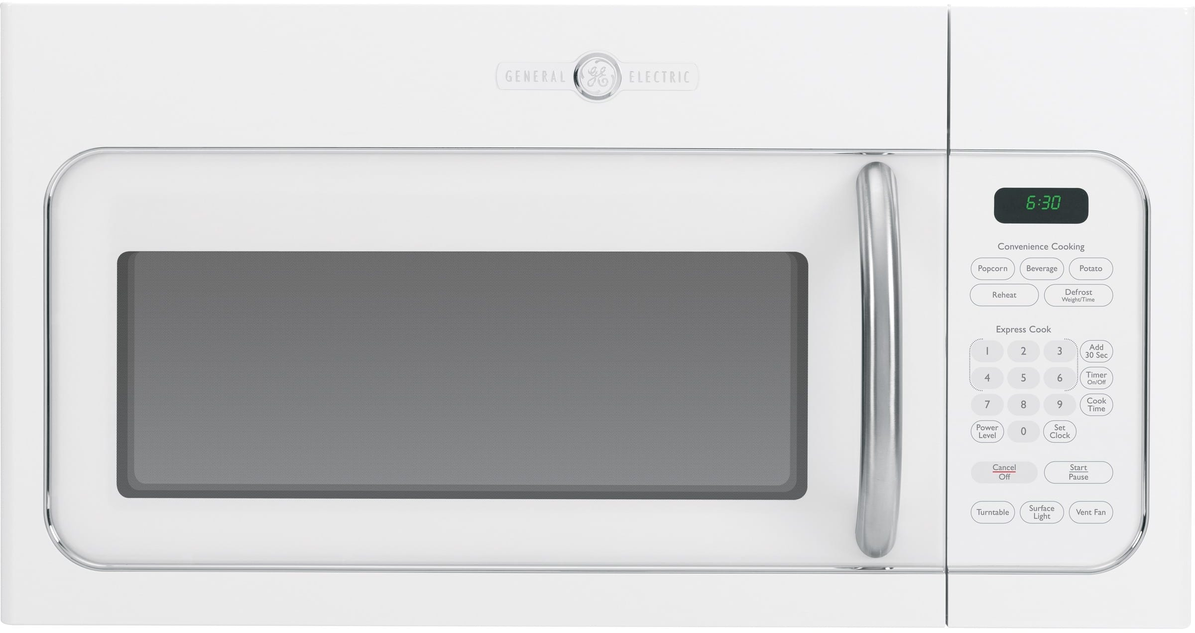 Ge Avm4160dfws 1 6 Cu Ft Over The Range Microwave Oven