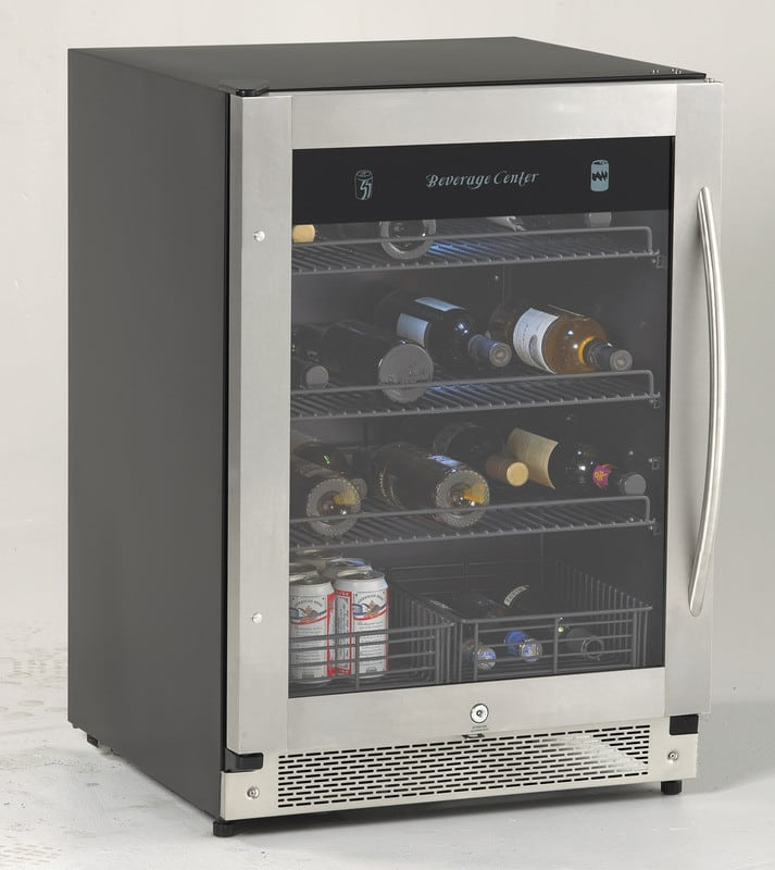 Avanti Bca57ssr 24 Inch Compact Beverage Cooler With 5 8
