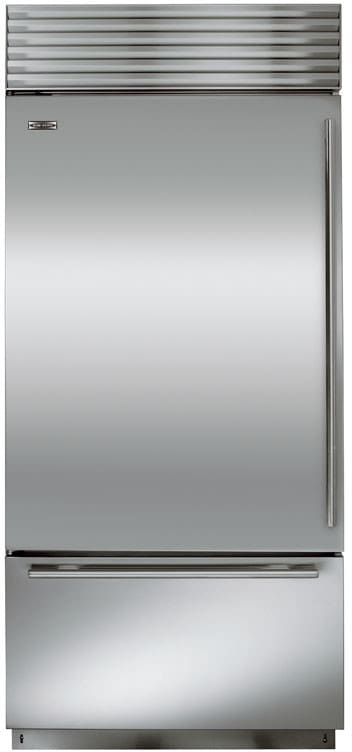 Sub Zero Bi36usth 36 Inch Built In Bottom Freezer