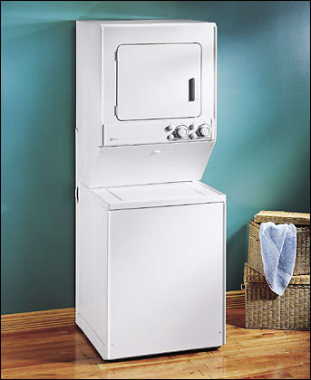 Maytag Lse7806ace 28 Inch Electric Laundry Center With 2 5