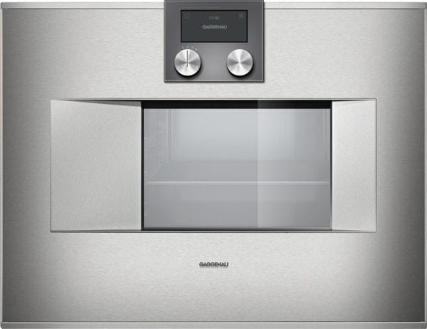 Gaggenau Bs471610 24 Inch Combi Steam Oven With 1 7 Cu Ft