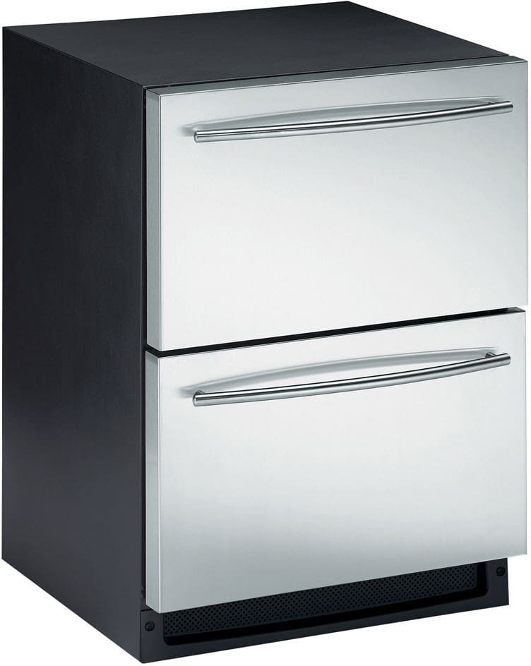 U Line Uc2275dwrs00 24 Inch Built In Combo Ice Maker