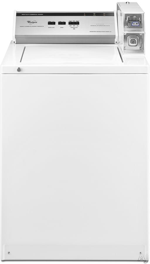 Whirlpool Cam2752tq 27 Inch Coin Operated Commercial Top