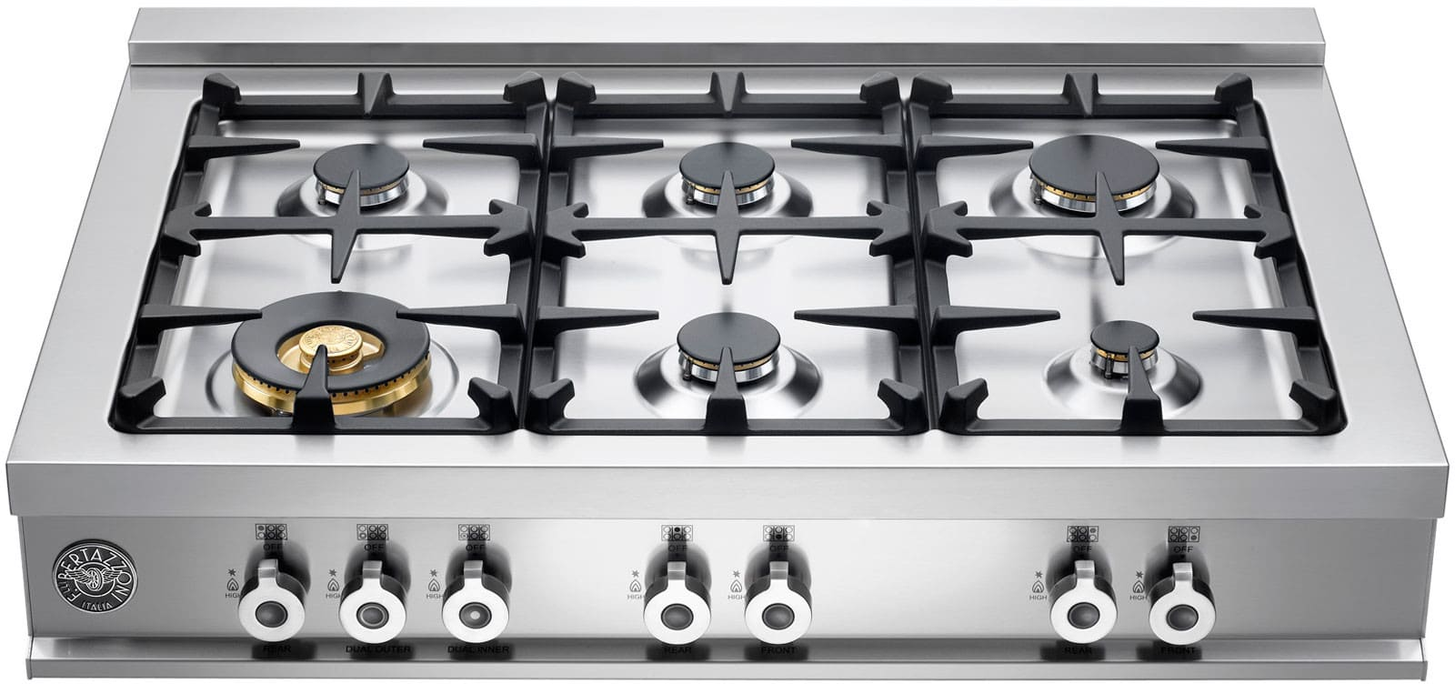 Bertazzoni Cb36600xlp 36 Inch Pro Style Gas Rangetop With