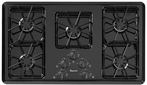 Magic Chef Cgc2536adb 36 Inch Gas Cooktop With 5 Tru Seal
