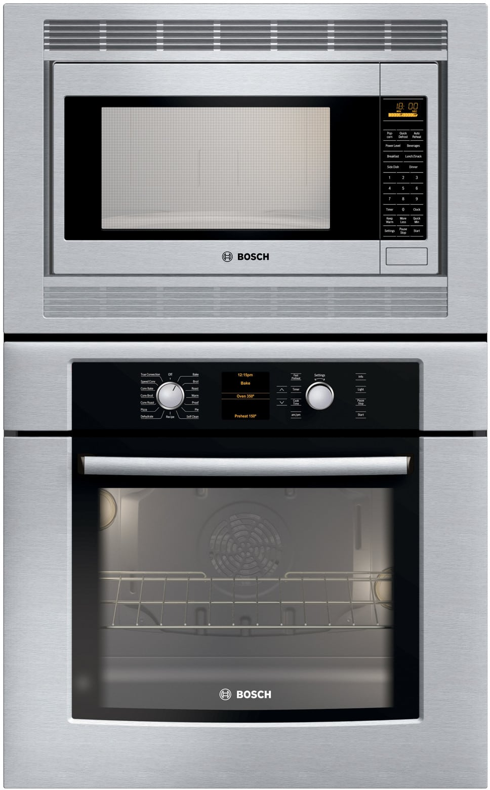 Bosch Hbl5750uc 30 Inch Microwave Combination Wall Oven