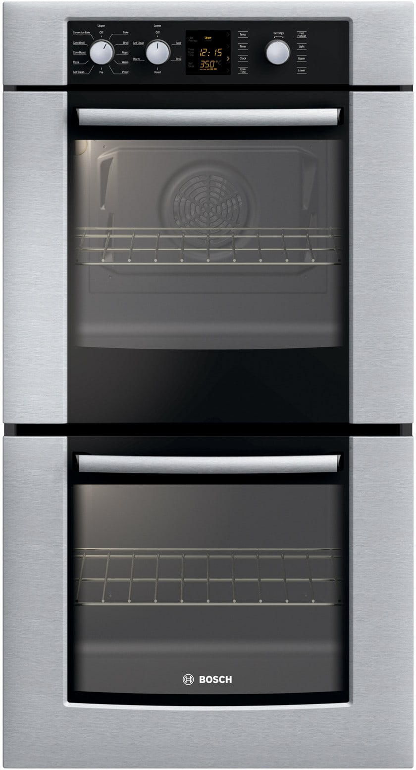 Bosch Hbn3550uc 27 Inch Double Electric Wall Oven With