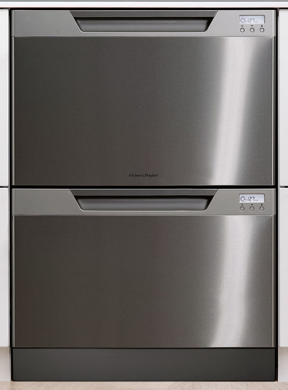Fisher Amp Paykel Dd24dcx6v2 Semi Integrated Double Drawer