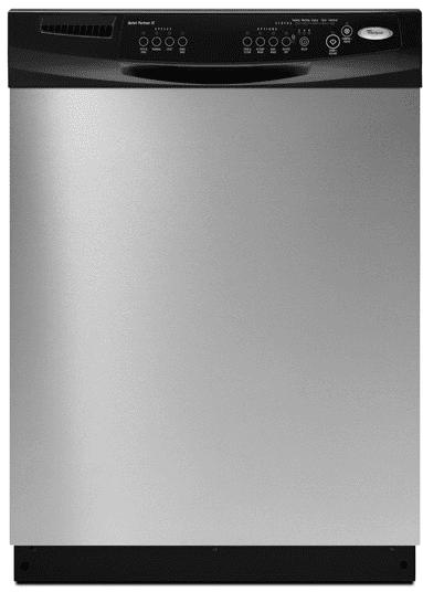 Whirlpool Du1055xtvs Full Console Dishwasher With 4 Wash