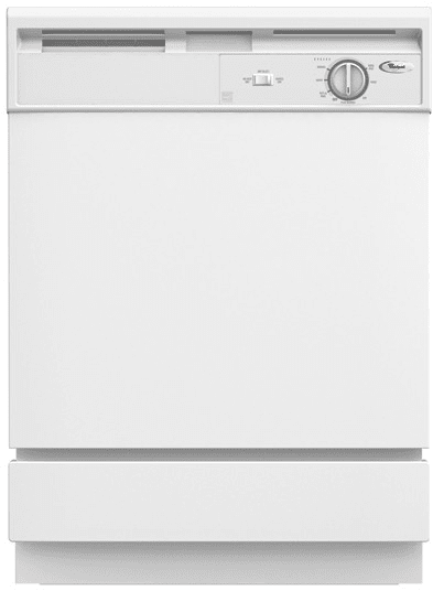 Whirlpool Du810swp 24 Inch Full Console Dishwasher With 4