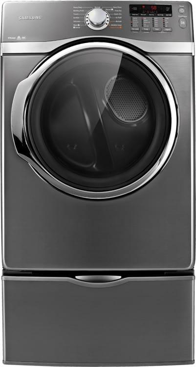 Samsung Dv405gtpasu 27 Inch Gas Dryer With 7 3 Cu Ft