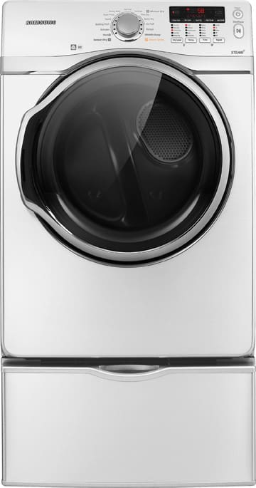 Samsung Dv431aew 27 Inch Electric Dryer With 7 4 Cu Ft