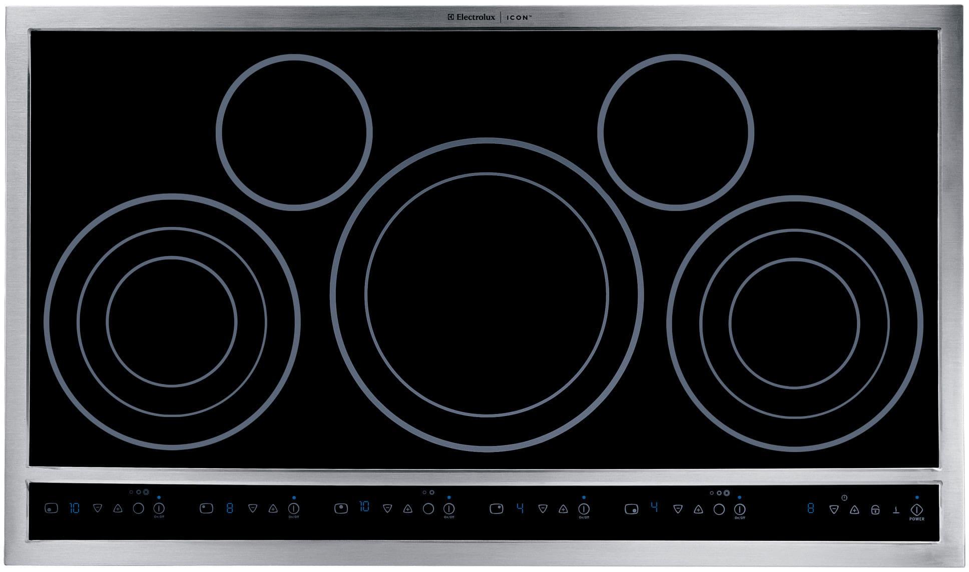 Electrolux E36ec70fss 36 Inch Drop In Electric Cooktop