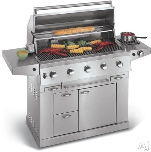 Electrolux Outdoor Kitchen: Electrolux E44LK60ESS 44 Inch Freestanding Liquid Propane