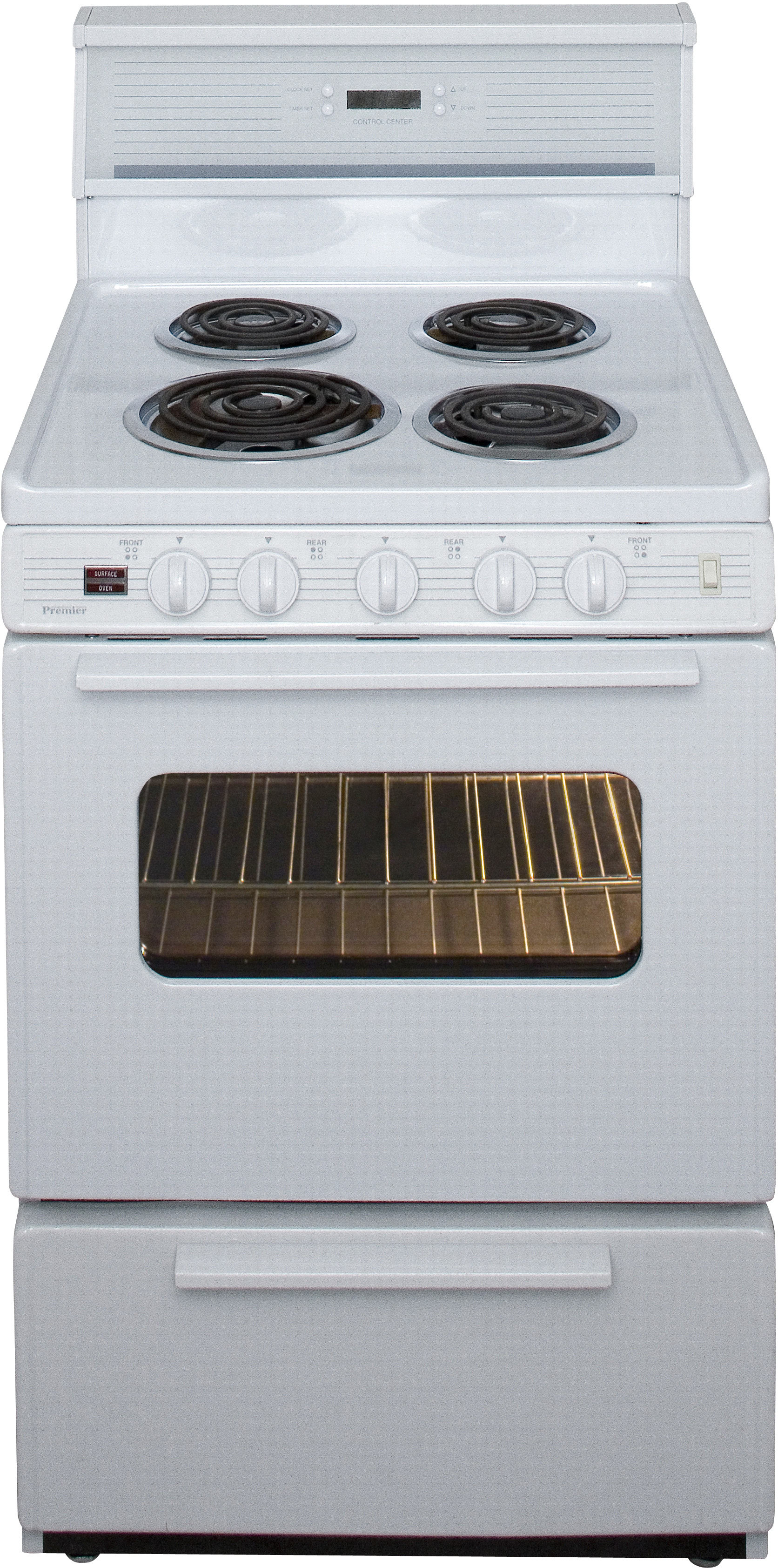 Premier Eck240o 24 Inch Freestanding Electric Range With 4