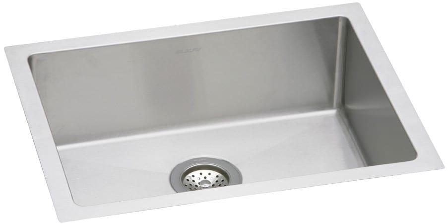 Elkay EFRU2115 24 Inch Undermount Single Bowl Stainless Steel Sink ...