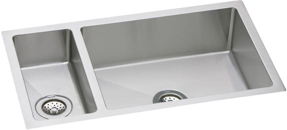 Elkay EFRU3219 32 Inch Undermount Double Bowl Stainless Steel Sink ...