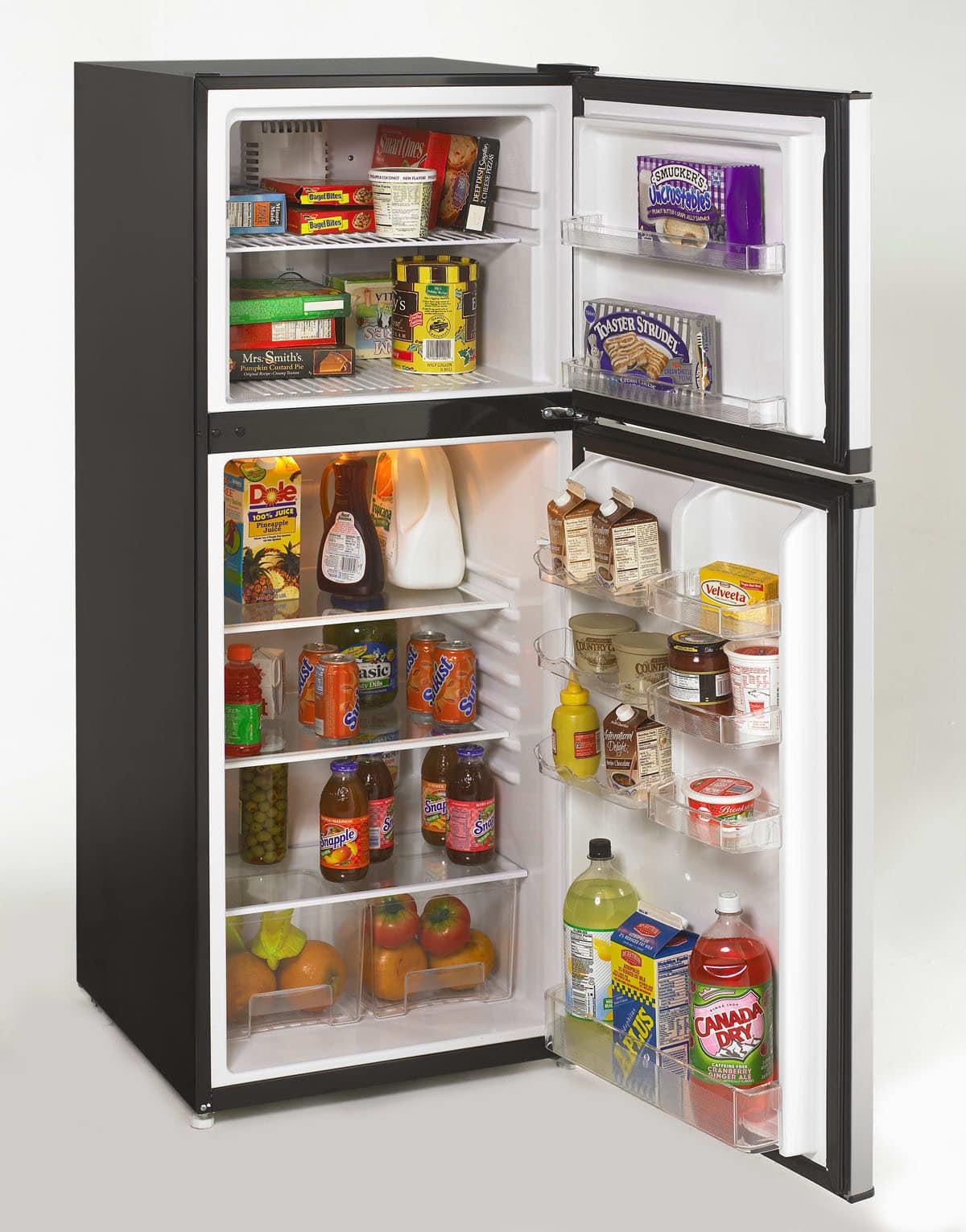 Avanti FF992PS 9.9 cu. ft. Counter-Depth Top-Freezer Refrigerator ...