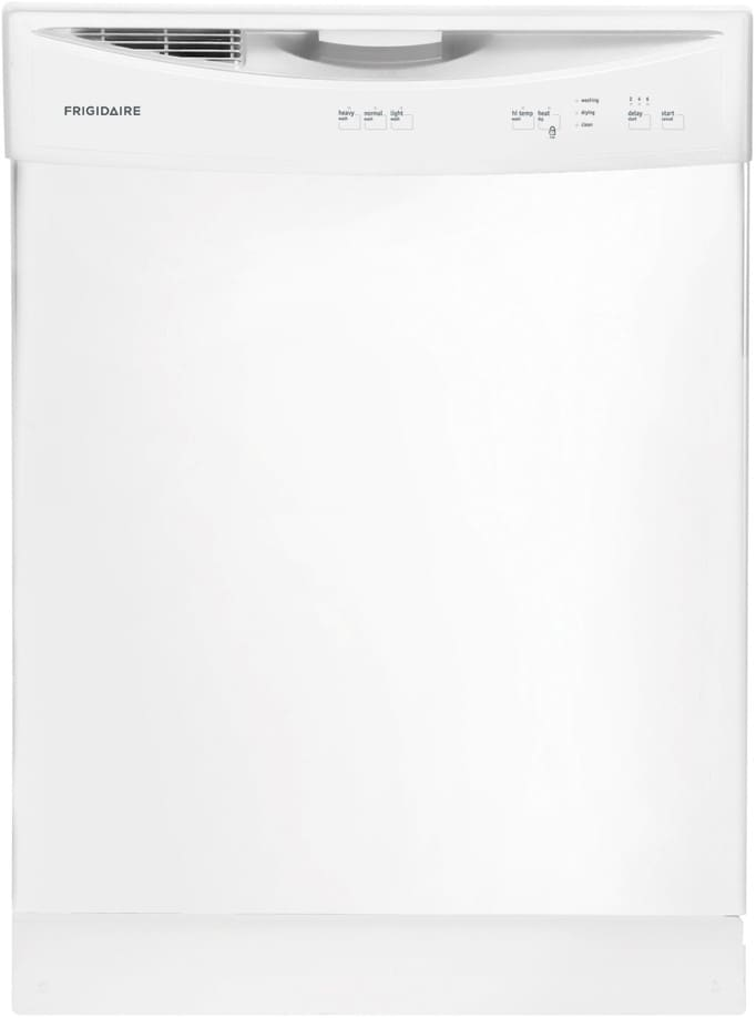 frigidaire ffbd2406nw 24 inch full console dishwasher with 14place settings