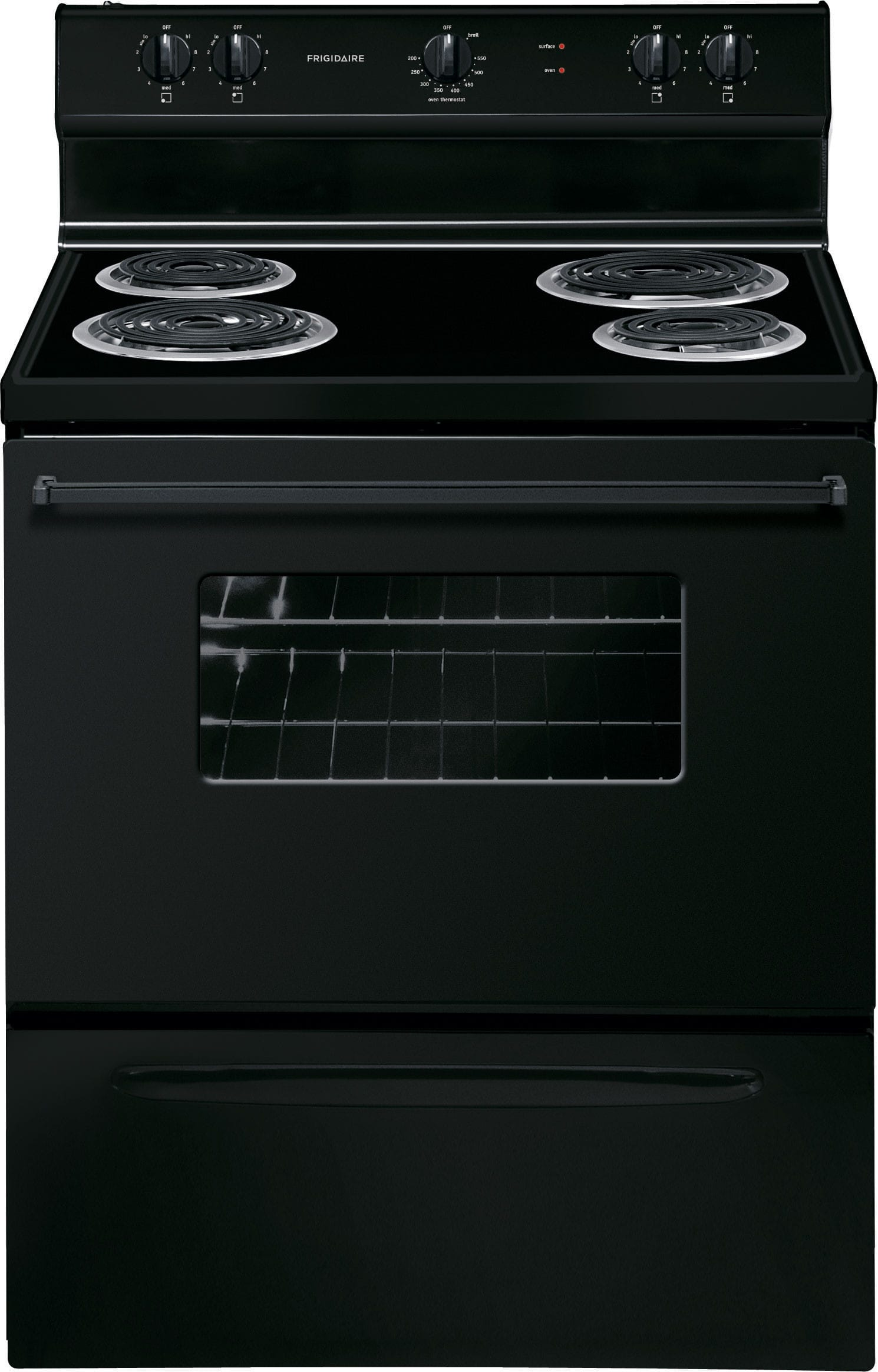 Frigidaire Ffef3005mb 30 Inch Freestanding Electric Range