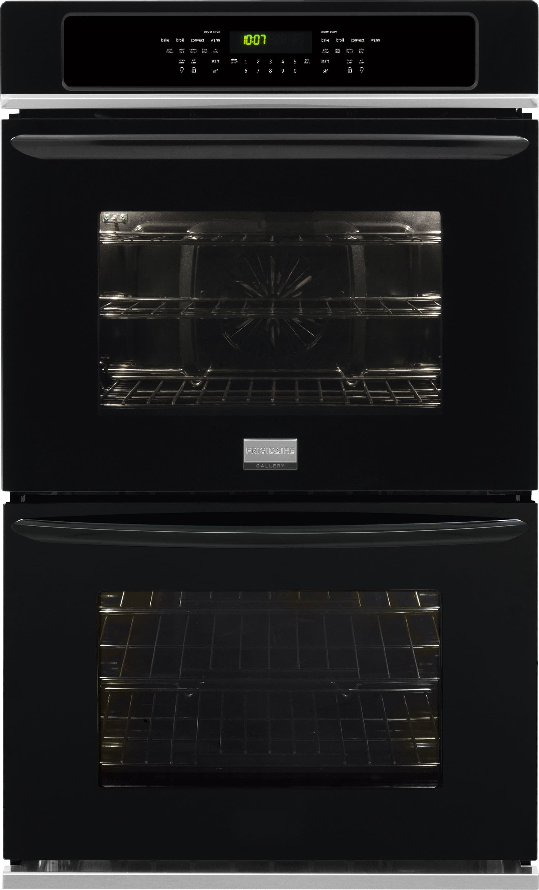 Best Wine Coolers >> Frigidaire FGET3065PB 30 Inch Double Electric Wall Oven with Effortless™ Temp Probe, Smudge ...