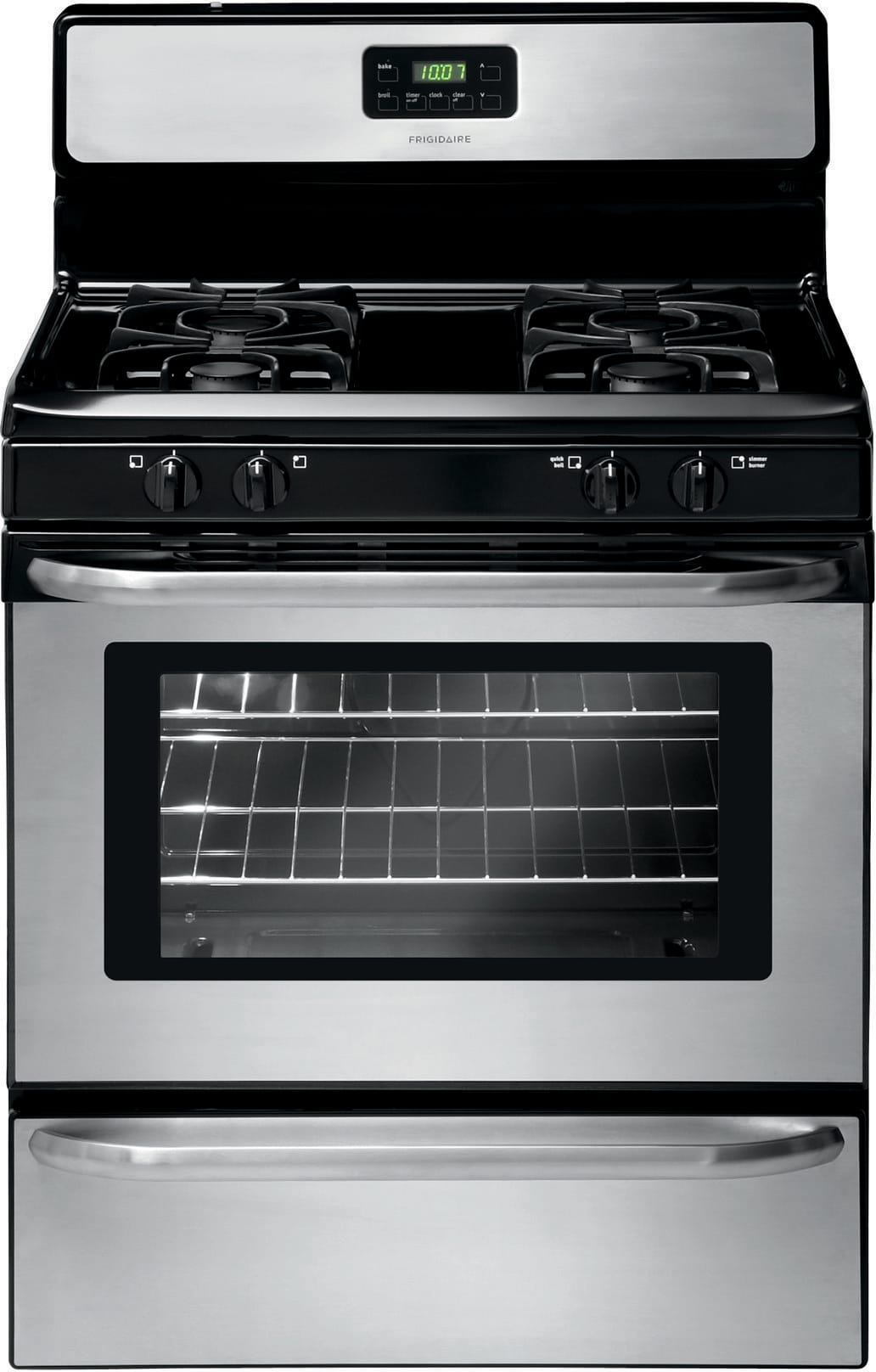Frigidaire Ffgf3047ls 30 Inch Freestanding Gas Range With