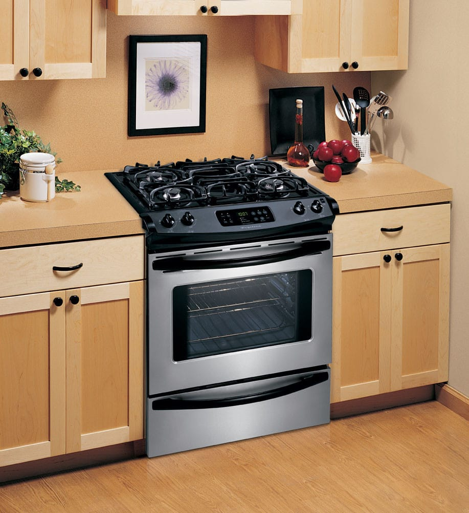 Frigidaire Fgs365ec 30 Inch Slide In Gas Range With 4