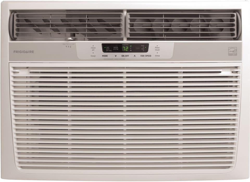 Bathroom Window Air Conditioner frigidaire fra184mt2 18,500 btu room air conditioner with 10.7 eer