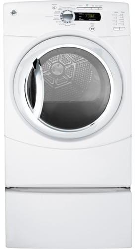 Ge Gfds350glww 27 Inch Gas Steam Dryer With 7 5 Cu Ft