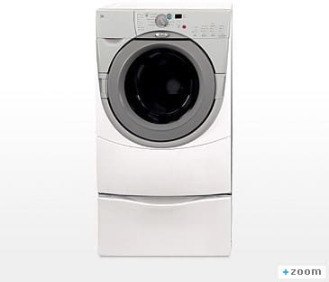 Whirlpool Ghw9150pw 27 Inch Duet Front Load Washer With 3