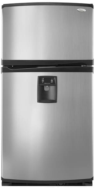 Whirlpool Gr2shwxps 21 7 Cu Ft Freestanding Top Freezer