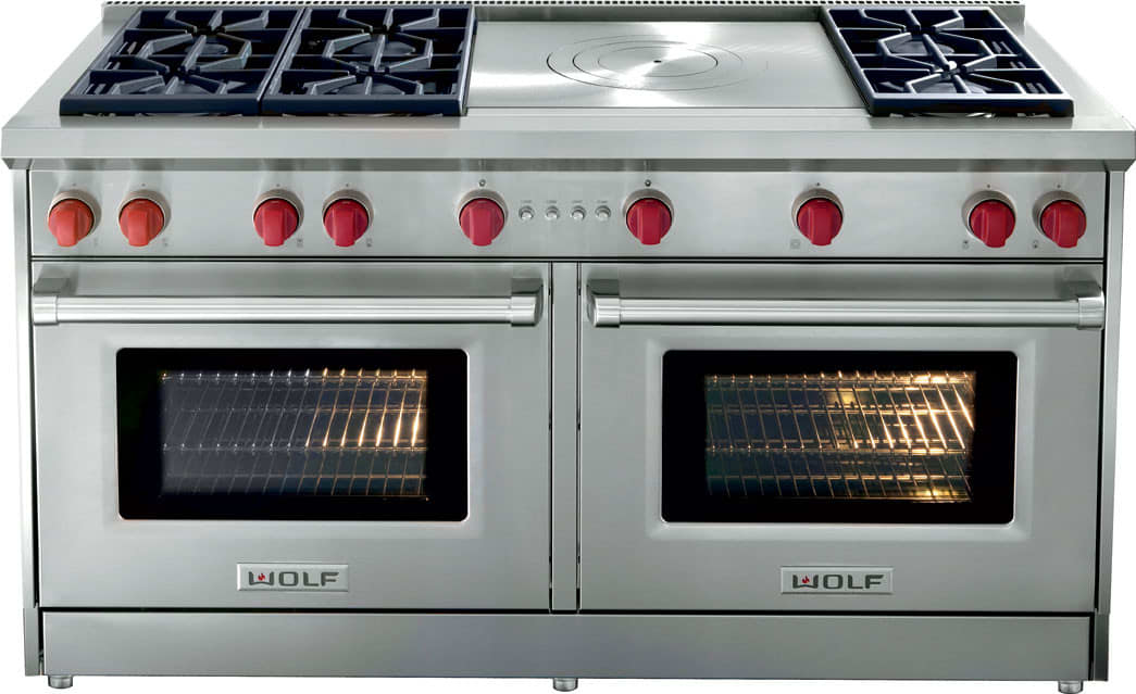 Wolf Gr606dglp 60 Inch Pro Style Gas Range With 6 Dual