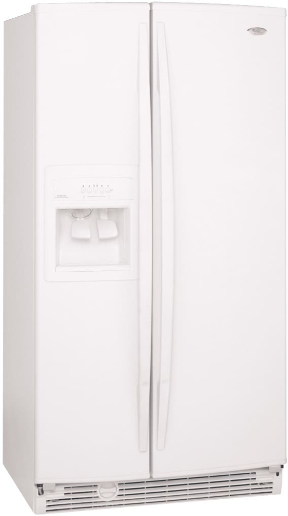 Whirlpool GD5SHAXMB 255 Cu Ft Side By Refrigerator