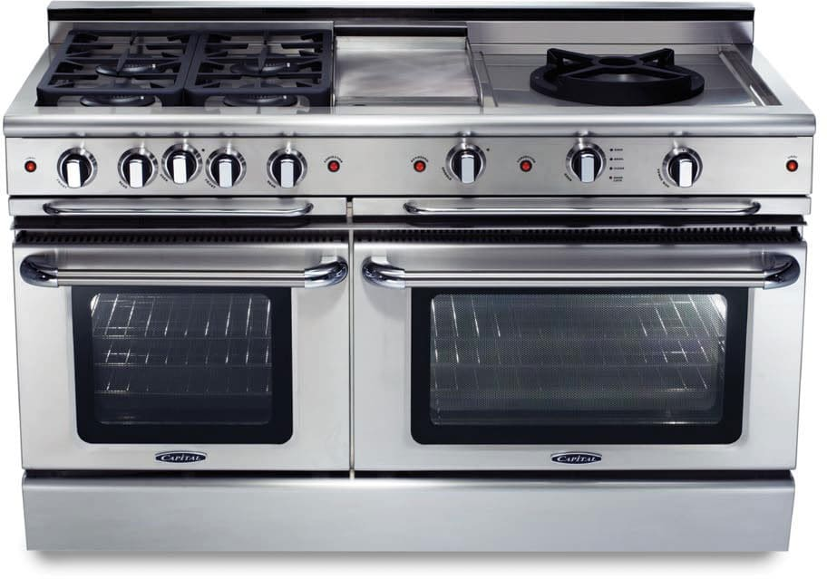 ... Convection Large Oven, Self-Clean, 12 Inch Grill, 12 Inch Griddle and