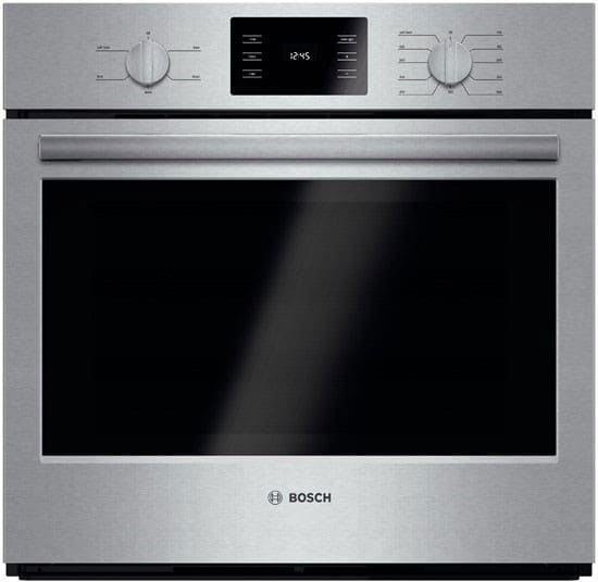 Convert Countertop Microwave To Built In : Bosch HBL5351UC 30 Inch Single Electric Wall Oven with Eco Clean ...